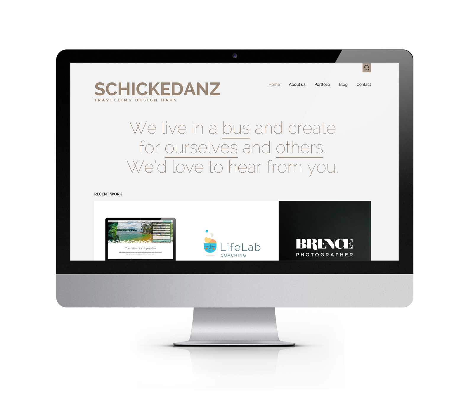 The new Schickedanz Design site.